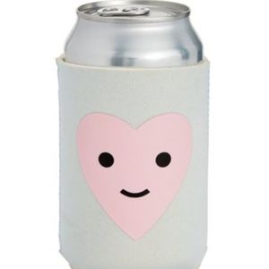ban.do Happy Heart Too Cold To Hold Drink Sleeve
